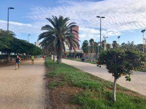 Parque Romana on liikunta-alue Las Palmasissa