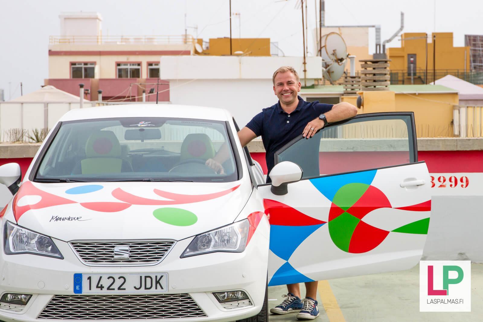Autonkuljettaja Las Palmas Gran Canaria