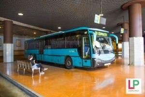 Bussiasema Santa Catalina Las Palmas Gran Canaria. Bussit lentokentälle