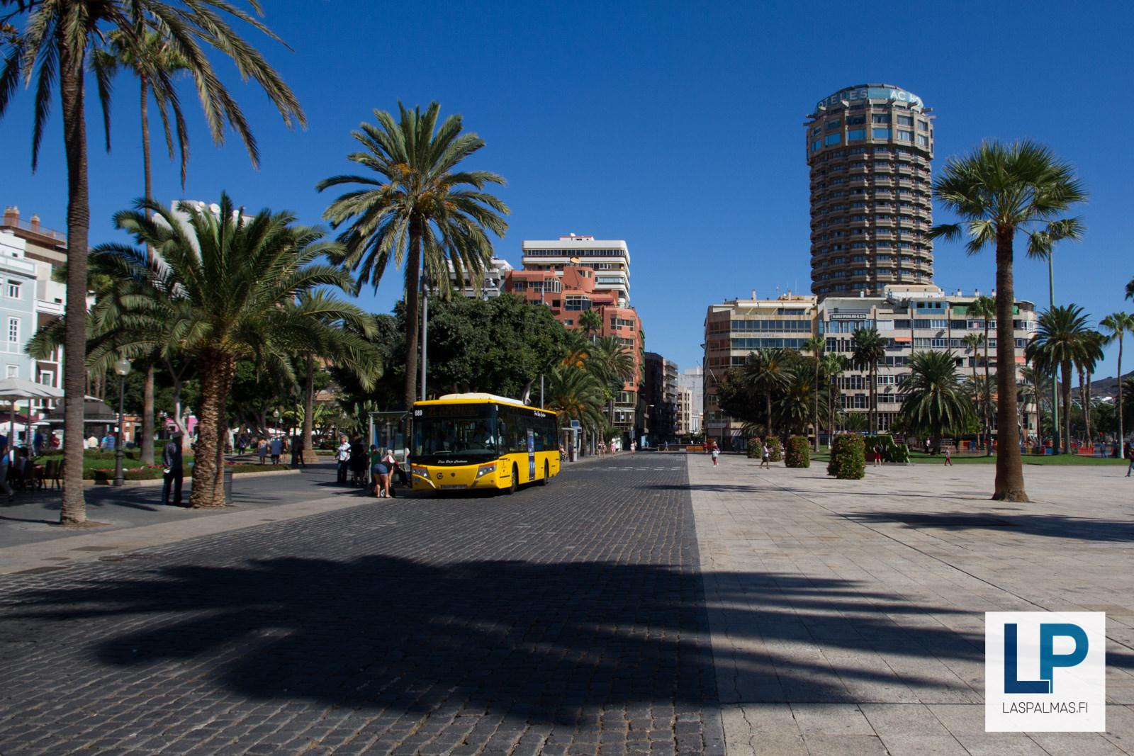 bussit linja autot las palmas de gran canaria. Black Bedroom Furniture Sets. Home Design Ideas