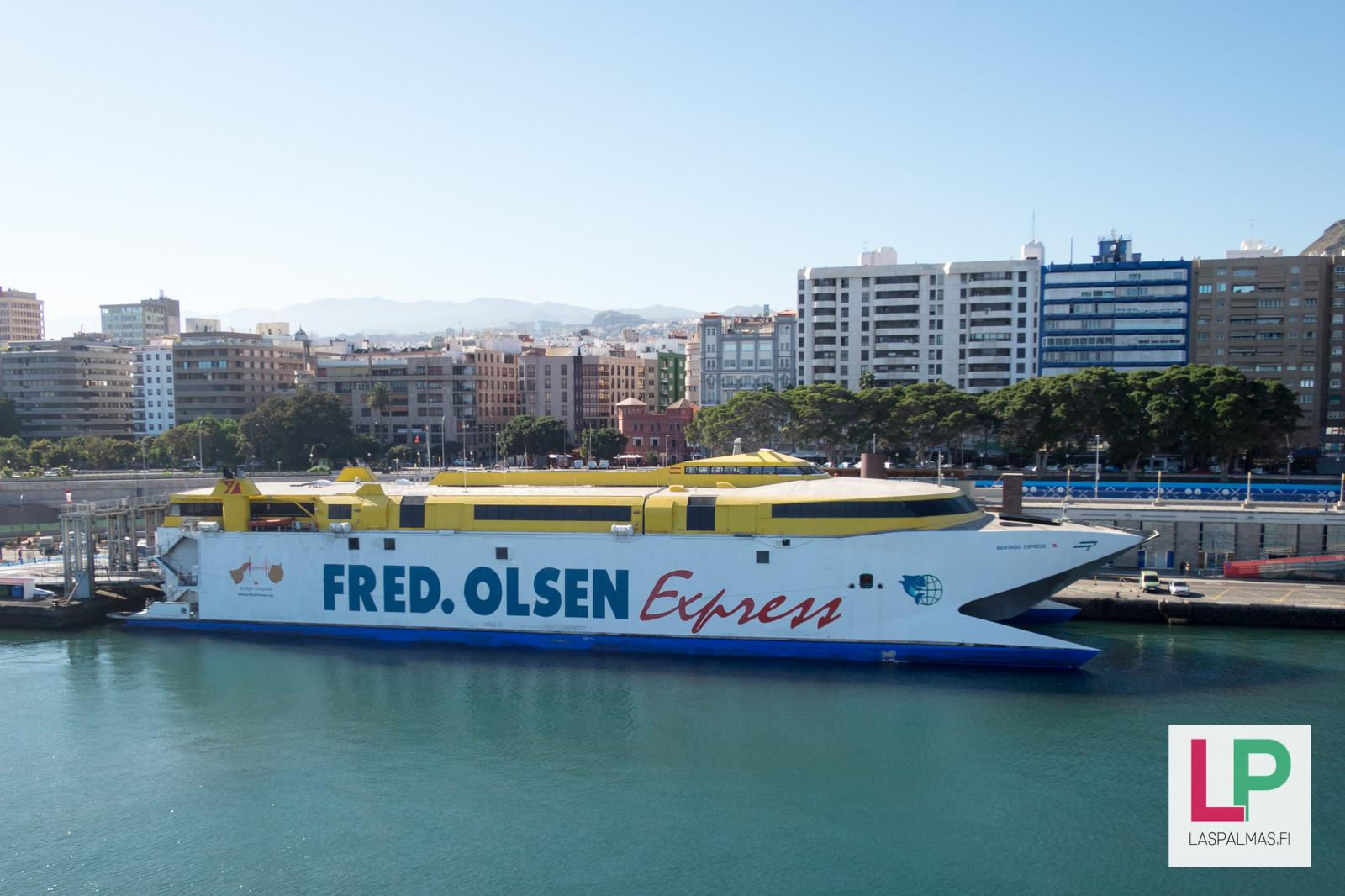 Fred Olsen Laiva Las Palmas Gran Canaria