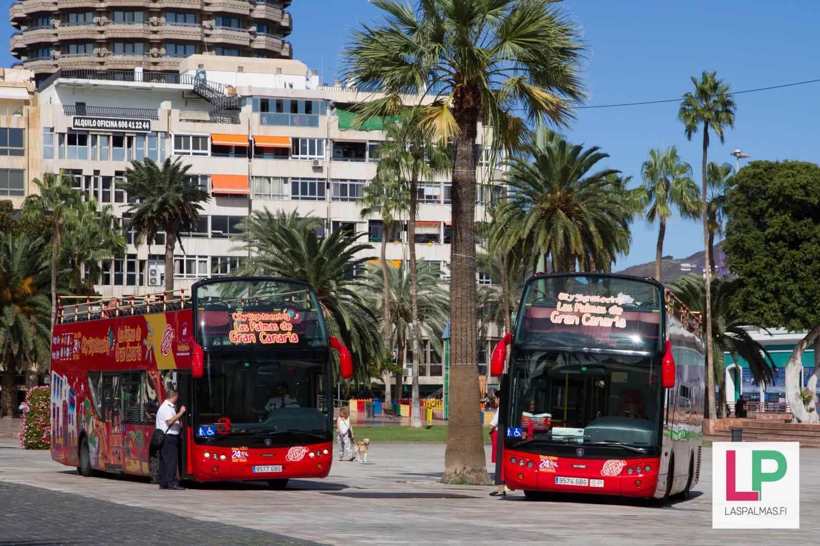 Hop On Hop Off bussi Las Palmas Gran Canaria