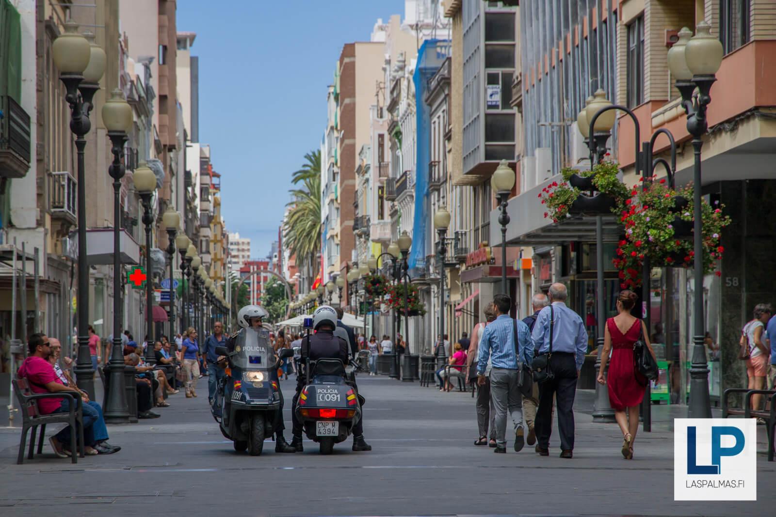 Parhaat ostoskadut Las Palmas, Gran Canaria