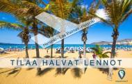 Halvat lennot Las Palmas