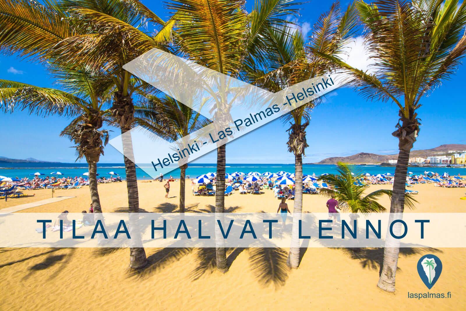 TILAA HALVAT LENNOT Las Palmas
