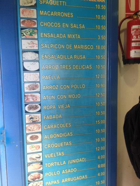 Caprichos Las Palmas Take away ruokaa mukaan otettavaksi