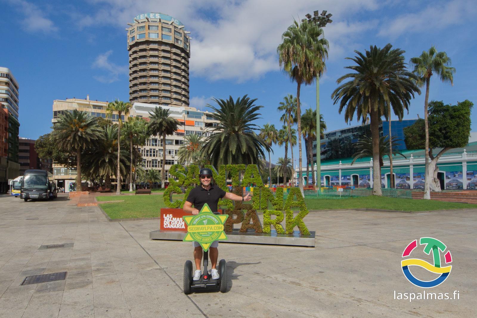 Segway las palmas hauska tapa tutustua kaupunkiin for De tapa en tapa las palmas