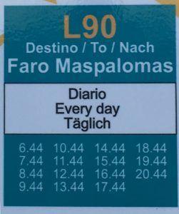 Lentokentältä Las Palmasiin ja muualle