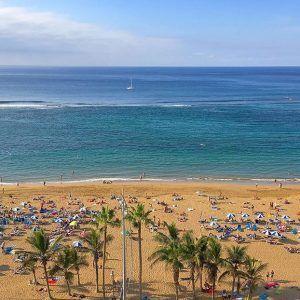 Las Palmasin nähtävyydet: Las Canterasin upea hiekkaranta