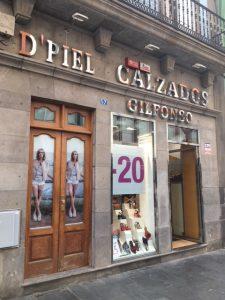 D´Piel Calzados Gilfonso myy laadukkaita kenkiä. Ostokset Las Palmas.