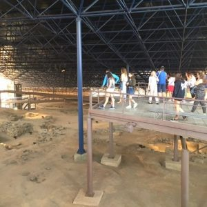 Cueva Pintada on alkuperäisasukkaiden elämää valottava museo Gran Canarialla