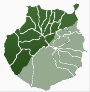 Gran Canaria oli jaettu kahteen valtakuntaan: Galdar ja Telde
