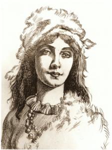 Gran Canarian prinsessa Guyarmina - viimeisen kuninkaan Tenesor Semidanin tytär