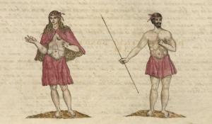La Gomeran alkuperäisasukkaita