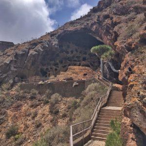 Gran Canarian pohjoisosa, nähtävyyksiä: Cenobio de Valerón