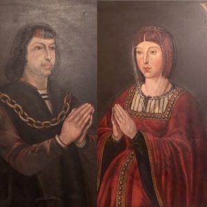 Katoliset monarkit Isabella ja Ferdinand. Kanariansaarten valloitus oli heidän ideansa.