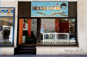 Hyvä parturi Las Canteras, Las Palmas.