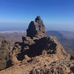 Morro de la Agujereada on Gran Canarian korkein kohta, 1956 m.