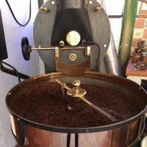 Finca De La Laja kahviviljelmä Gran Canarialla