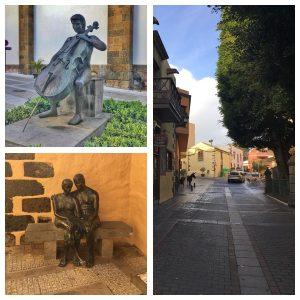 Agüimes on vanha kaupunki Gran Canarialla