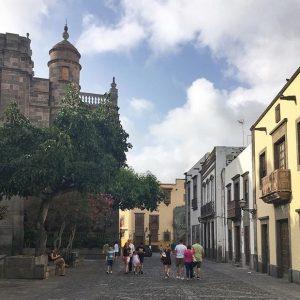 Vegueta Las Palmas. Pala historiaa.