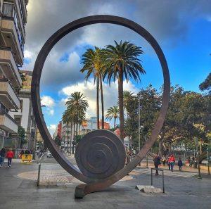 Espiral del Viento sijaitsee Calle Mayor de Trianalla.