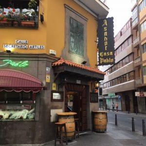 Casa Pablosta saa espanjalaista ruokaa.
