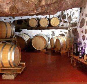 Bodega de Berrazales viini. Agaete, Gran Canaria