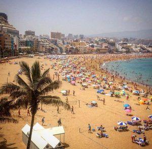 Nähtävyydet Las Palmasissa: Las Canteras ranta on numero yksi