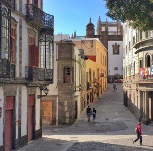 Vanhakaupunki Las Palmas