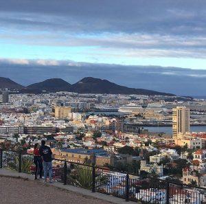 Näköalapaikka Gran Canaria Las Palmas