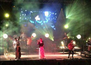 Jenny and The Mexicats konsertti Las Palmasissa